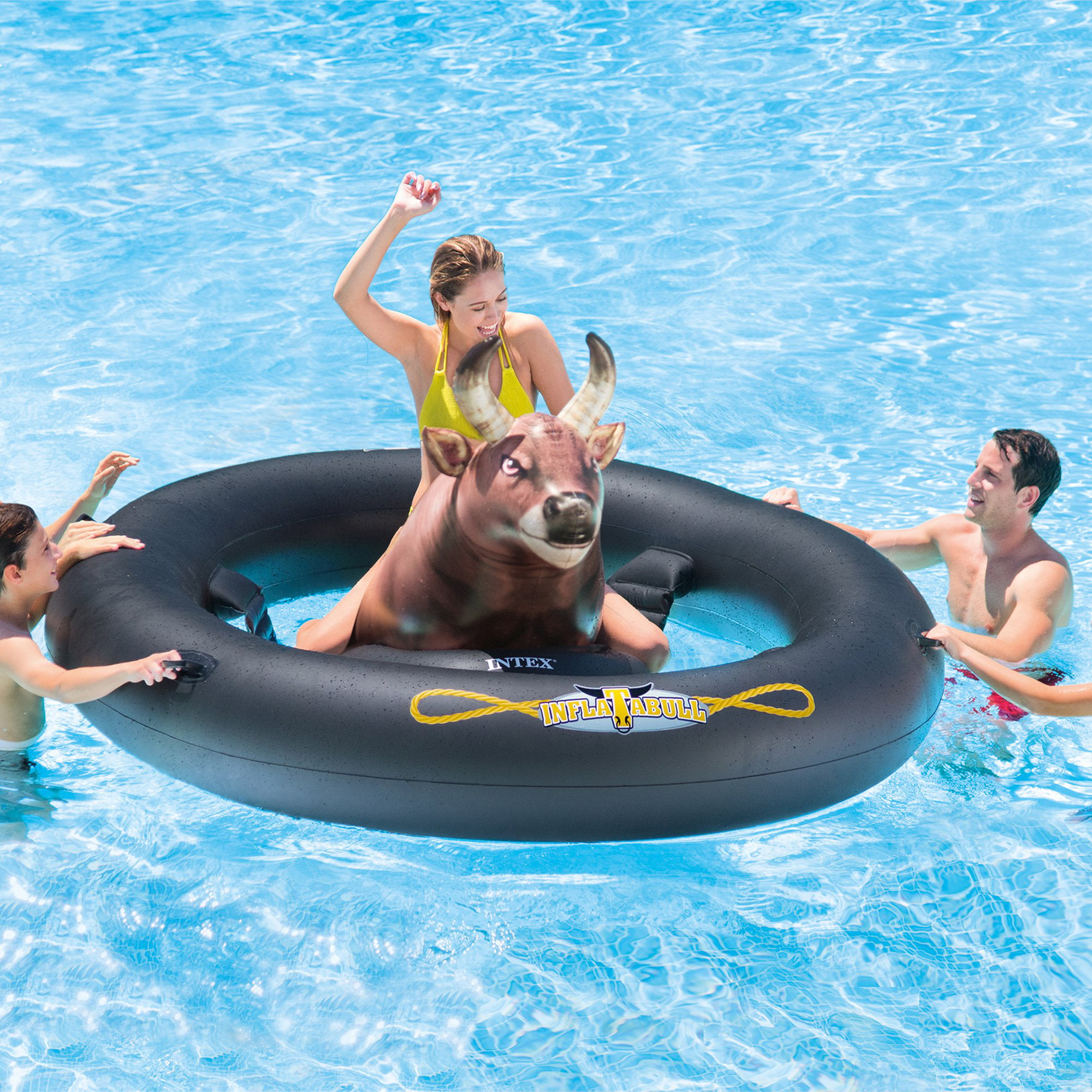 Inflatabull Swimming Pool Lake Fun Float Inflatable Water