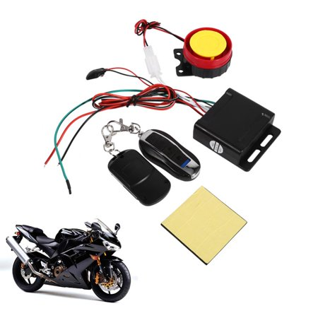 HERCHR 12V Anti-theft Security Alarm System Remote Control Engine Start Motorcycle Bike Battery Ultralow