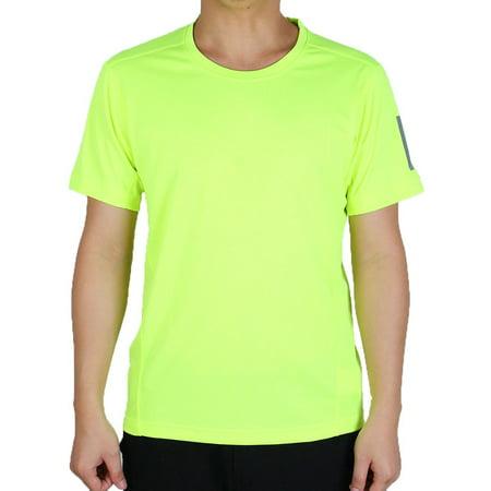 Men Short Sleeve Clothes Casual Wear Tee Cycling Biking Sports T-shirt Blue...