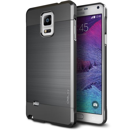 OBLIQ, Galaxy Note 4 Case [Slim Meta][Titanium Space Gray] (Note 4 Net 10)