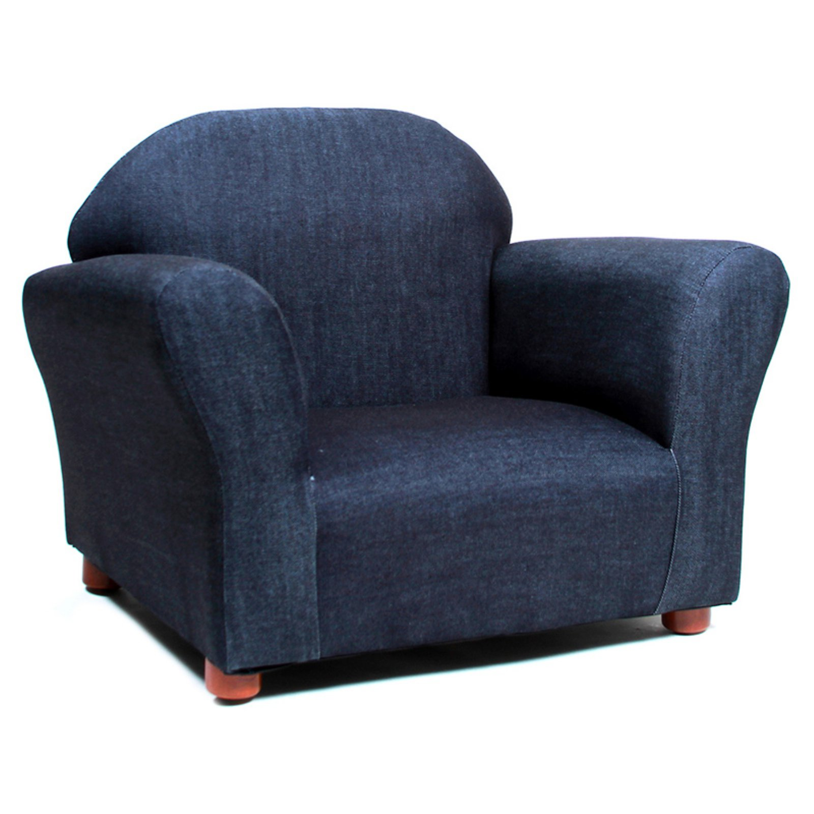 Fantasy Keep Roundy Denim Kids Chair