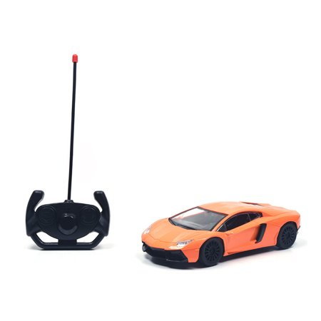 RC Car 1:18 Lamborghini Aventador Radio Remote Control Cars Electric Car Sport Racing Hobby Toy Car Grade Licensed Model Vehicle for Kids Boys and Girls Best Gift