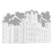 Downton Abbey by Castle 14 x 20 in. Placemat - Set of 4