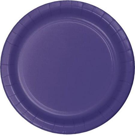Dinner Cases (Group  9 in. Dinner Plate, Purple - 8 per Case - Case of 12)