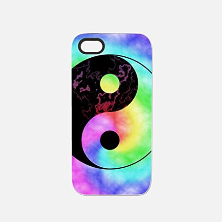 Ganma Hipster Tye Dye print colorful Rubber Case For iPhone X, 10 (5 8 inch)