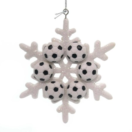 Snowflake Games (Holiday Ornaments SPORT SNOWFLAKE ORNAMENT Polyresin Game)