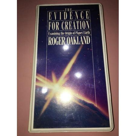 the evidence for creation roger oakland audio cassette