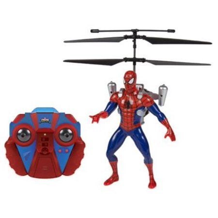 Marvel Ultimate Spider-Man Vs The Sinister 6 Jetpack 2-Channel IR RC Helicopter](4 Channel Helicopter)