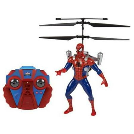 - Marvel Ultimate Spider-Man Vs The Sinister 6 Jetpack 2-Channel IR RC Helicopter
