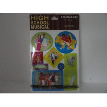 High School Musical Stickers - They Change Pictures When You Move Them - 1 Sheet High School Sticker