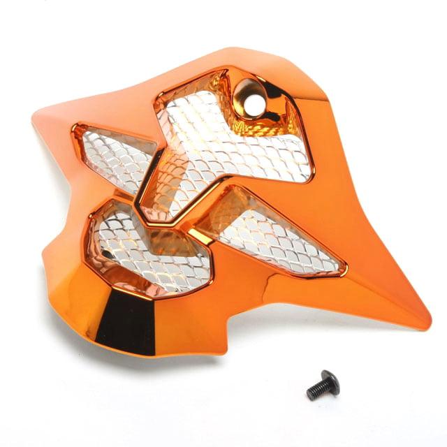 SHOEI Mouthpiece for VFX-W Off-Road Helmet Chrome Orange  #236164