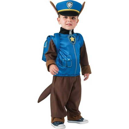 Child's Paw Patrol Chase Halloween Costume - Cats Dressed Up In Halloween Costumes