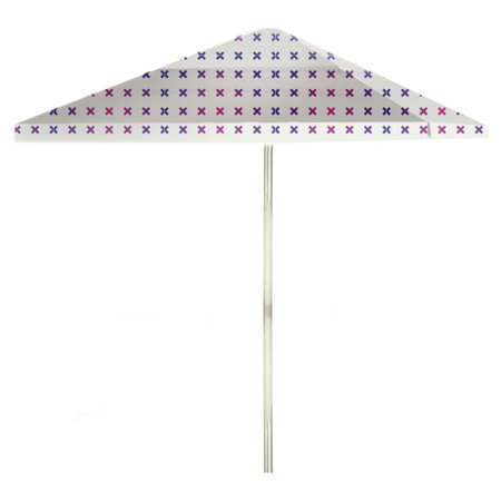 Best Of Times 60 Ft Aluminum Patterned Patio Umbrella Walmart Fascinating Patterned Patio Umbrellas