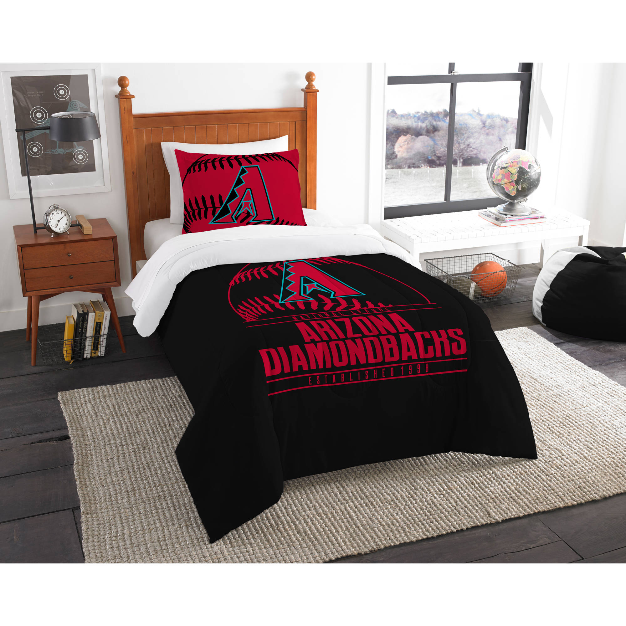 "MLB Arizona Diamondbacks ""Grand Slam"" Bedding Comforter Set"