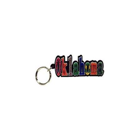 Bulk Buys - Ncaa Ok Keychain Pvc Festive - Walmart com