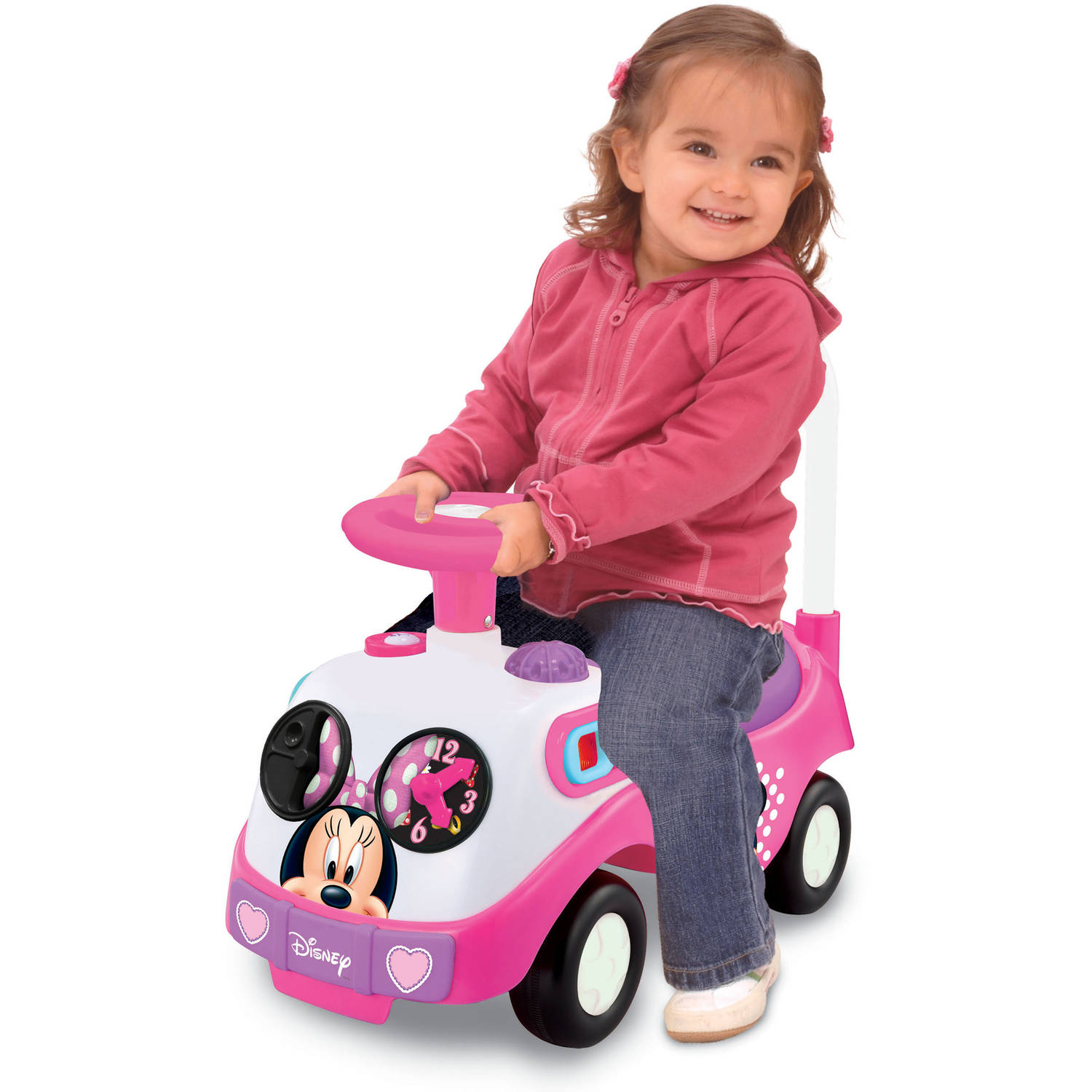 Kid land Disney My First Minnie Mouse Ride Walmart