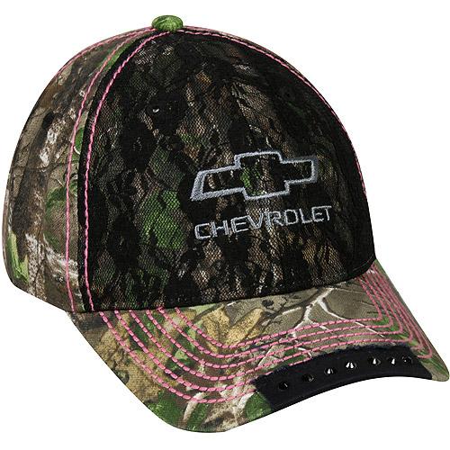 Women's Chevrolet Cap, Realtree Xtra Green Camo, Adjustable Closure thumbnail