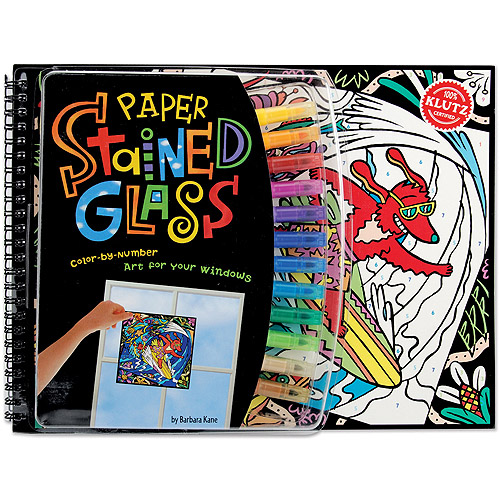 Klutz Paper Stained Glass Book Kit-