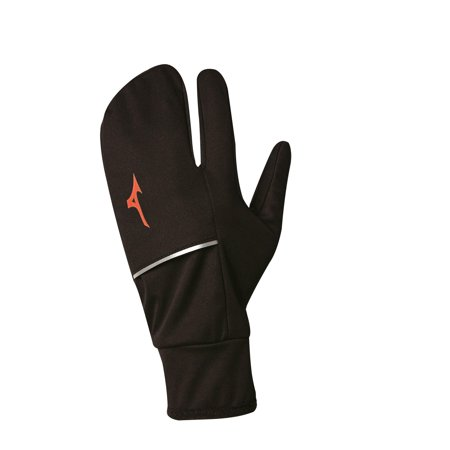 mizuno running apparel breath thermo windproof lobster mitt 421352. Black Bedroom Furniture Sets. Home Design Ideas