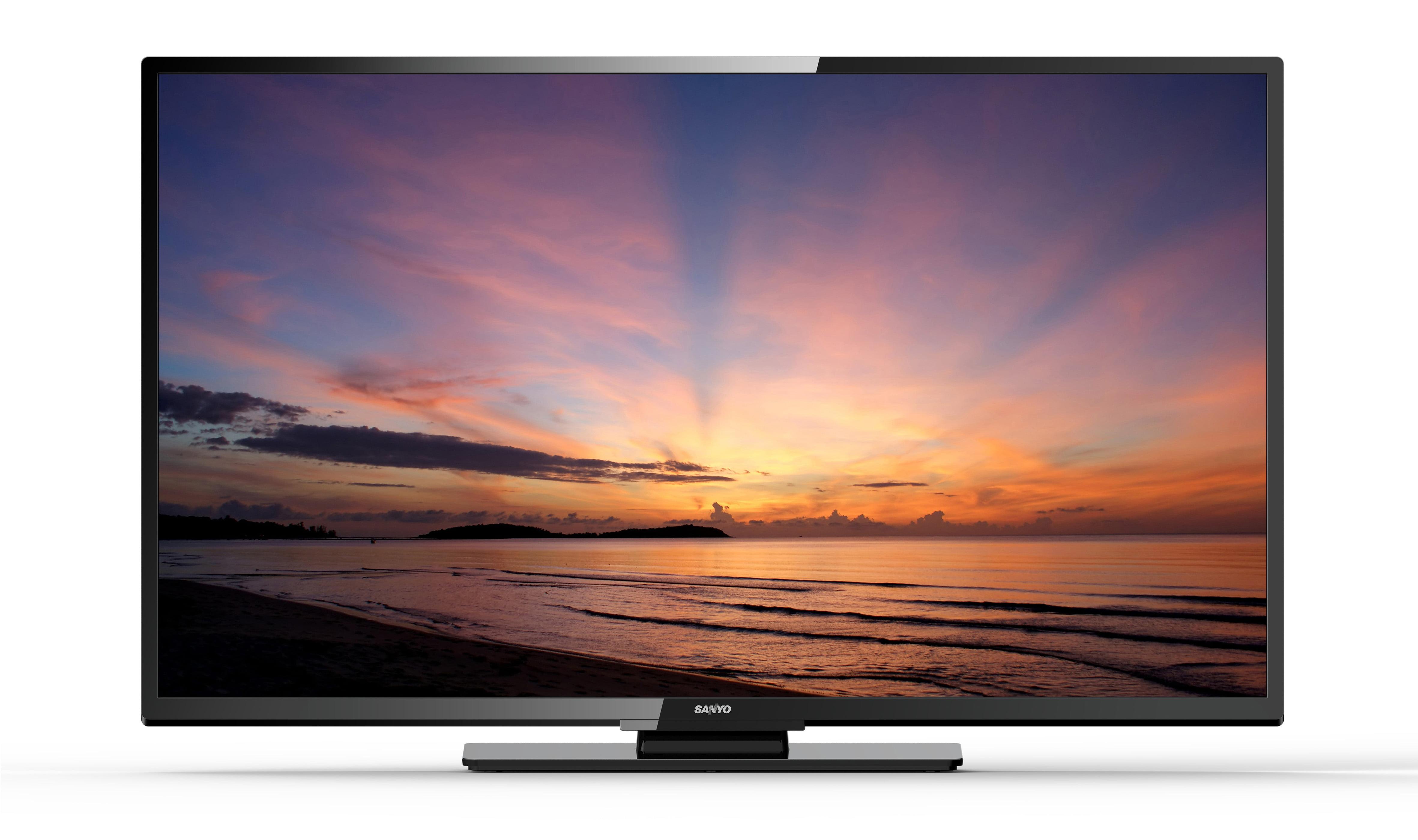 Flat Screen Tv On Sale This Week - Sanyo fw55d25f 55 1080p 60hz class led hdtv