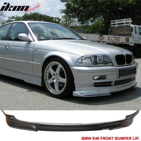 Pu Fits 99 03 Bmw E46 3 Series Coupe Urethane Front Bumper Lip Spoiler Body Kit