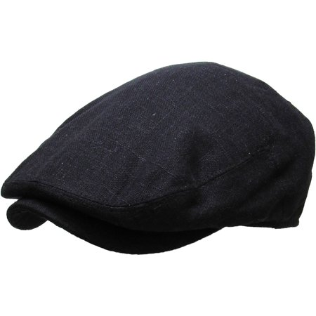 Solid Cabbie Newsboy & Ascot Ivy Hat Cap Plaid Solid Gatsby Golf NEW - Newsboy Hat