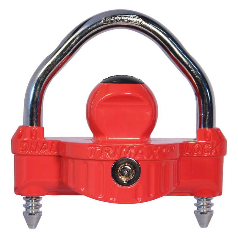 """TRIMAX - UNIVERSAL COUPLER LOCK with 1/2"""" Shackle"""