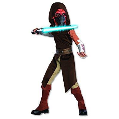 star wars clone wars child's deluxe plo koon costume, - Clone Wars Plo Koon