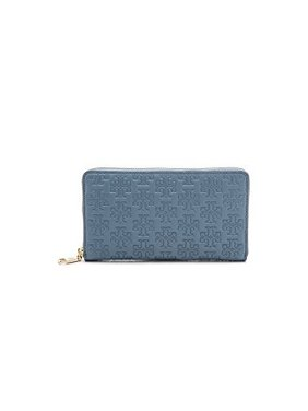 1b1777c7b761 Product Image Tory Burch Women s Embossed T Zip Continental Wallet