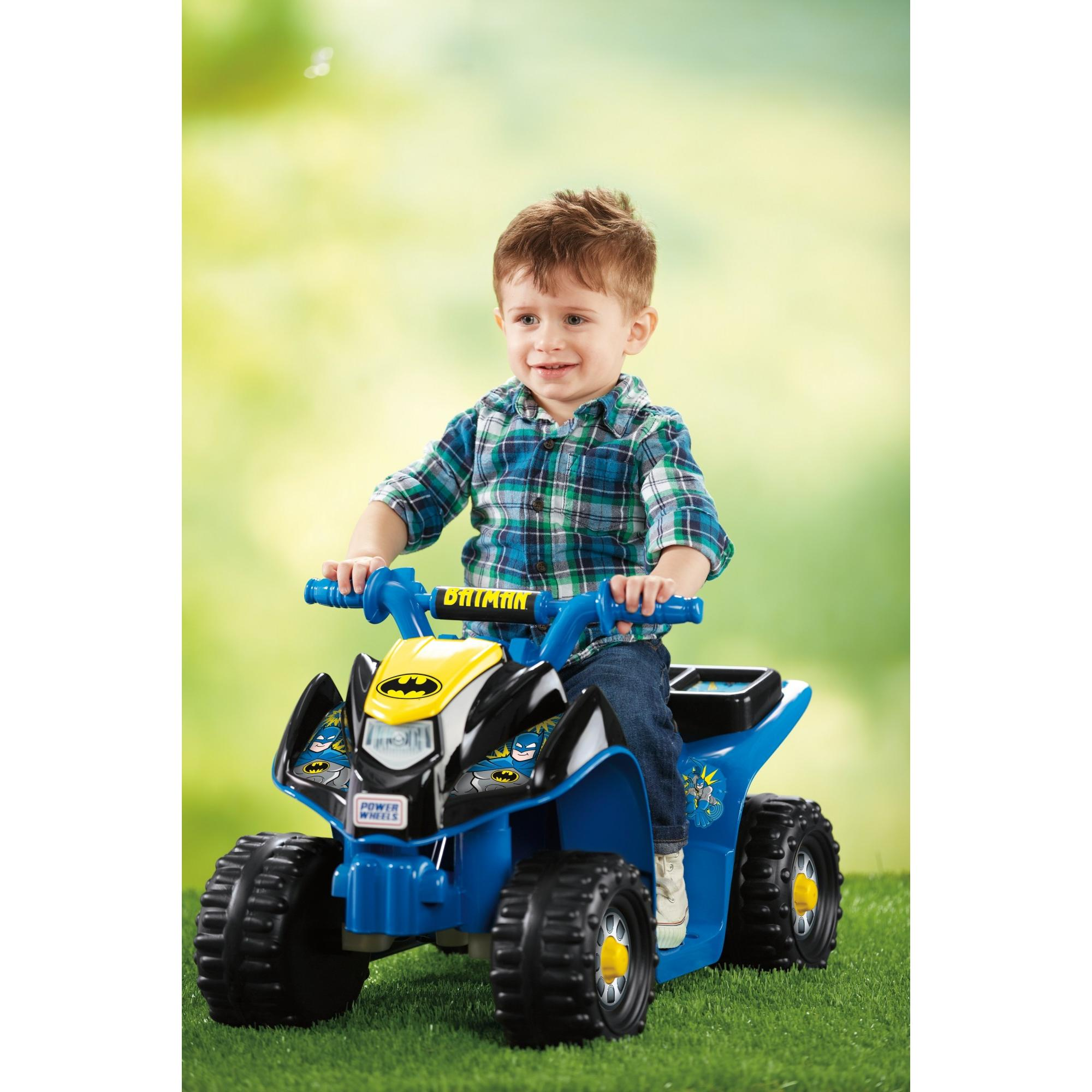 Power Wheels Batman Lil' Quad Ride-On for Toddlers by FISHER PRICE