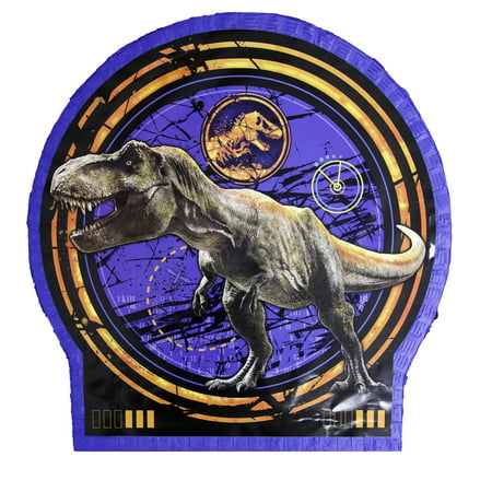 Jurassic World Pinata, Pull String, 19.5 x 19 in, 1ct](Partycity Pinata)
