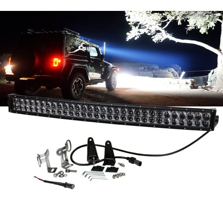 E us series curved 30 oz usa 180w ultra spot led light bar off road e us series curved 30 oz usa 180w ultra spot led light bar off road fog hyper beam utv rhino rzr 12 32 volts walmart aloadofball Image collections
