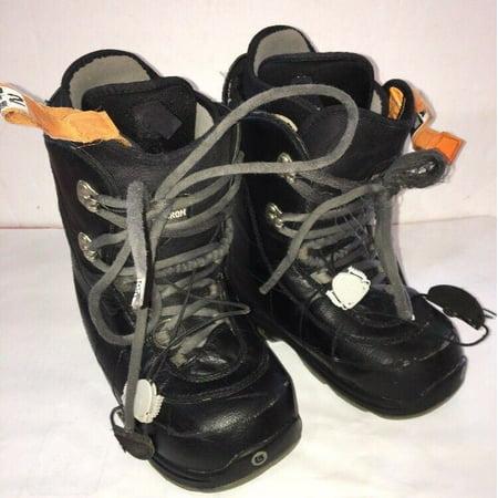 Burton Ion Grom Snowboard Boots Youth Kids Boys Size 6-EU 38-SHIPS N 24 HOURS Burton Kids Snowboard Boots