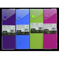 Poly Slide Pencil Box - Quantity of 12 - PT -  AE20970