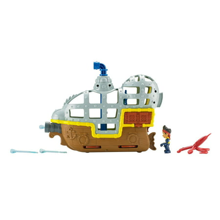 Disney Jake And The Neverland Pirates Rolling Submarine Bucky (Jake In The Neverland Pirates)