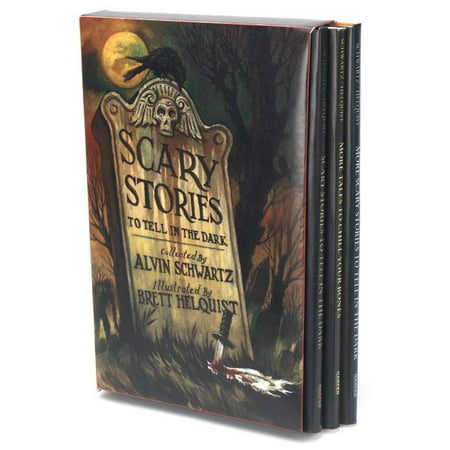 Scary Stories: Scary Stories Box Set: Complete Collection with Brett Helquist Art