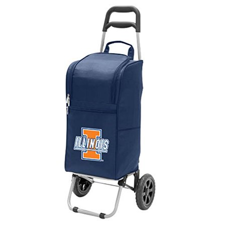 Picnic Time 545-00-138-214-0 University of Illinois Fighting Illini Digital Print Cart Cooler, Navy - image 1 of 2