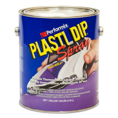 Dip Coating - Plasti Dip Sprayable Gallon - Black