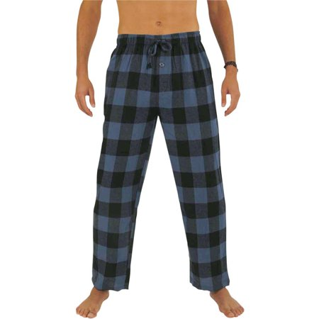 Norty Mens Flannel Pajama Pants - Comfortable Cotton Bottoms Sleep or Loungewear