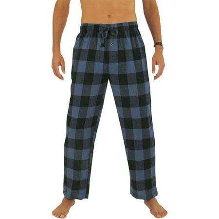 - Norty Mens Flannel Pajama Pants - Comfortable Cotton Bottoms Sleep or Loungewear