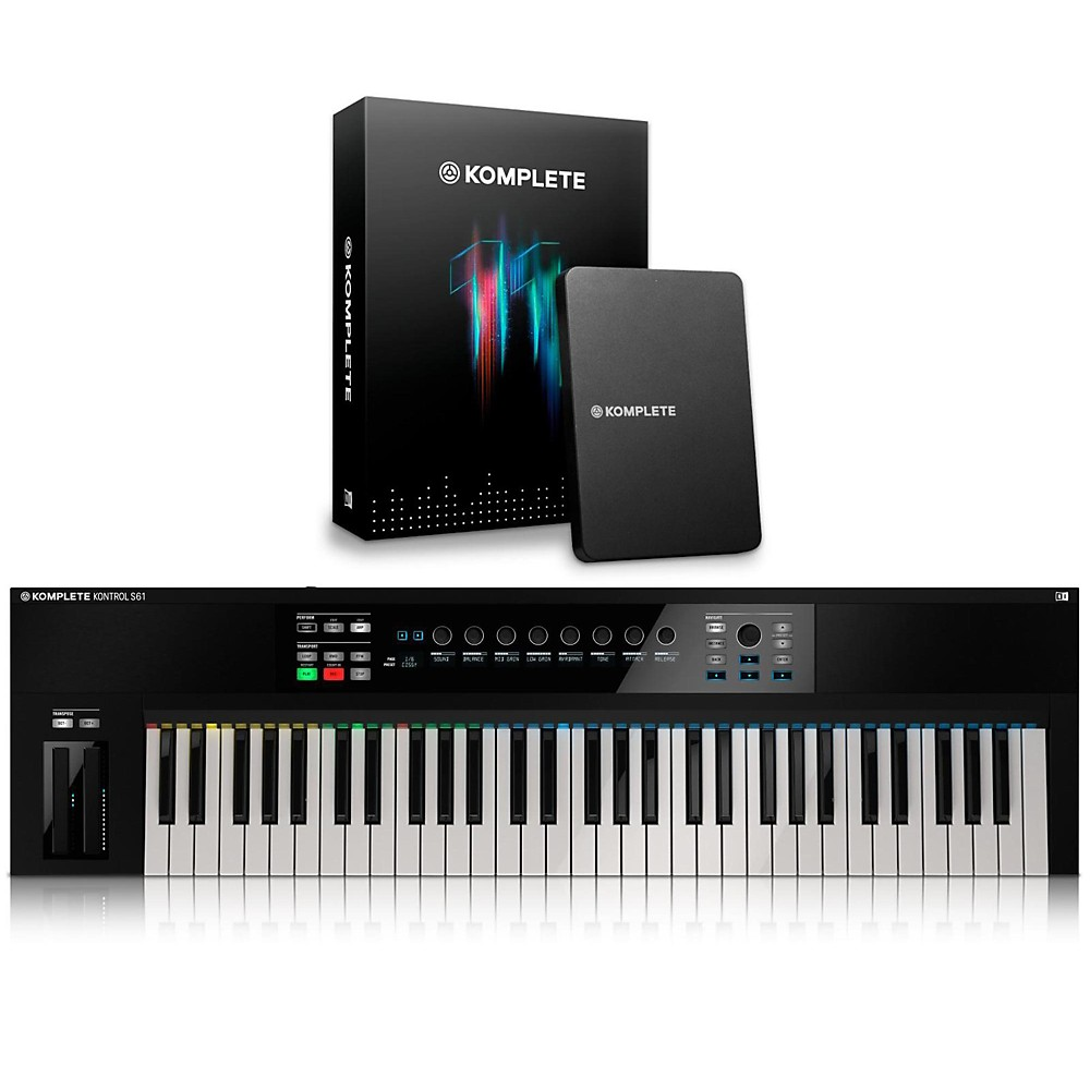 Native Instruments KOMPLETE KONTROL S61 Keyboard Controller with KOMPLETE 11 by Native Instruments