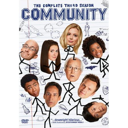 Community: The Complete Third Season - Community Halloween Season 3