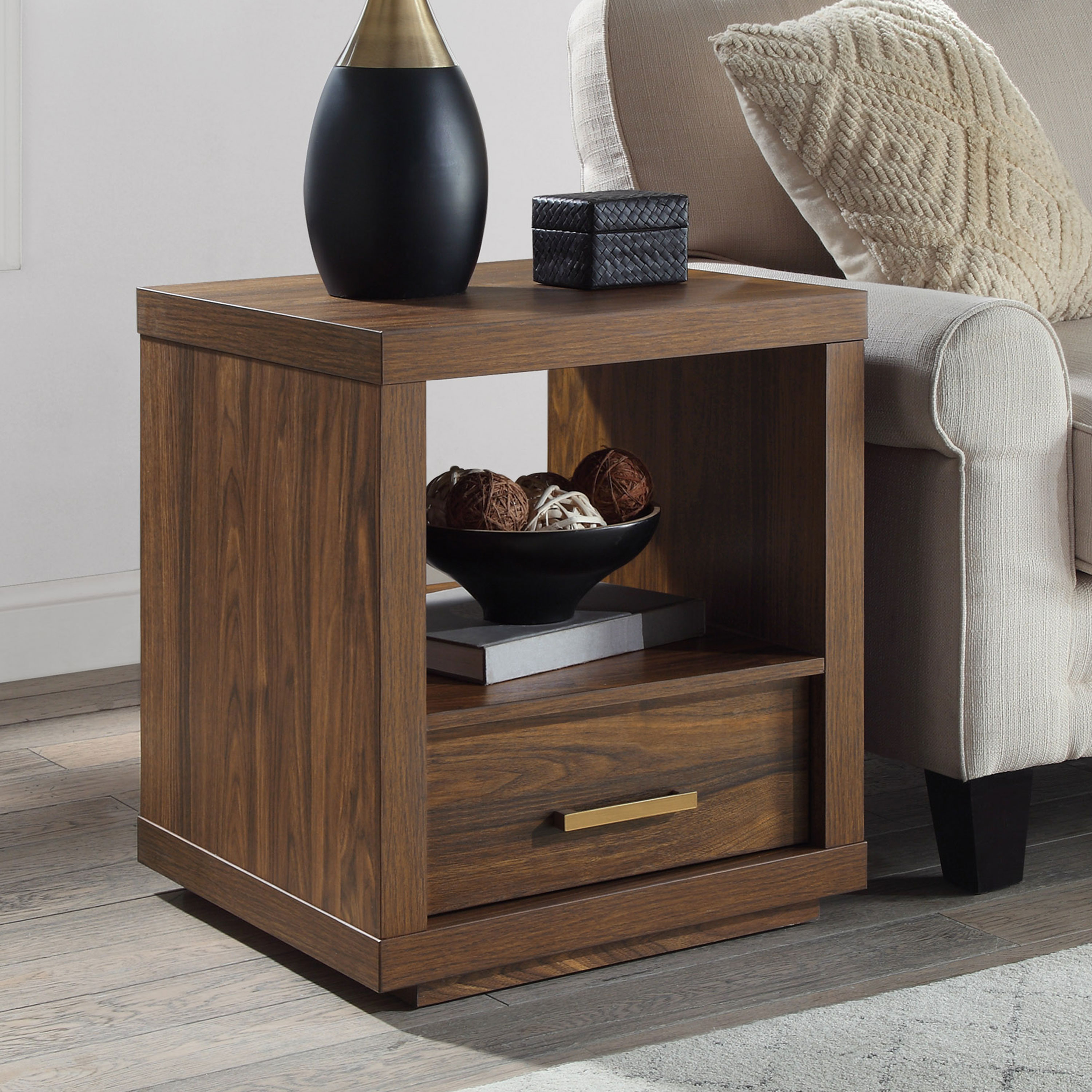 Better Homes Gardens Steele End Table Only 30 73 Edealinfo Com
