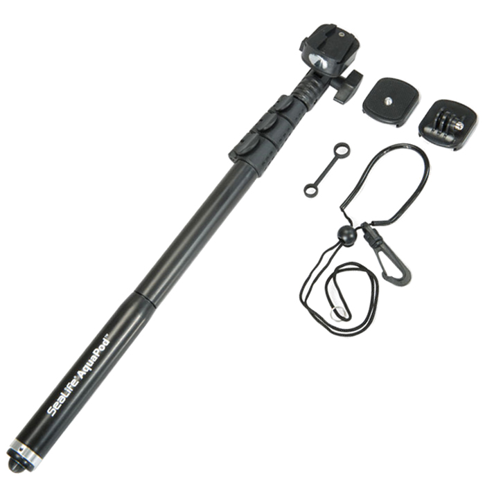 SeaLife AquaPod Underwater Camera Monopod with Quick Release with Mount for GoPro