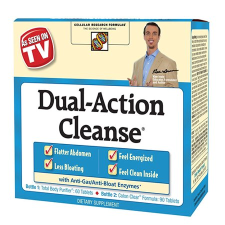 Gall Bladder Cleanse Kit (As Seen On Tv Applied Nutrition Dual Action Cleanse Kit - 1)