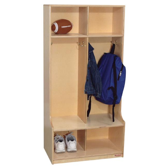 Wood Designs 52400 - 2 Section Offset Locker