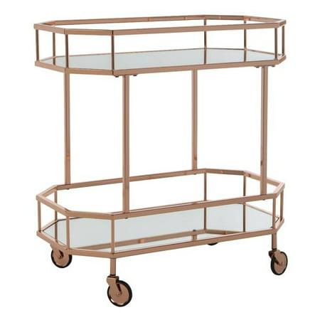 Everly Quinn Beaminster Octagon Bar Cart