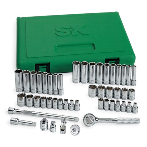 "Sk Professional Tools 1/4"" Drive, Socket Wrench Set, 91848"