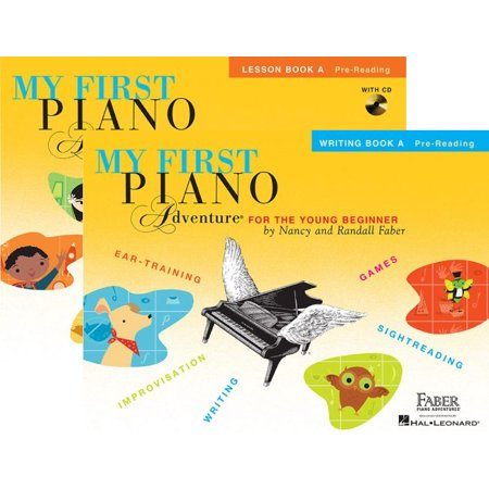 My First Piano Adventures Level A – Two Book Set - Lesson Book with CD and Writing Book