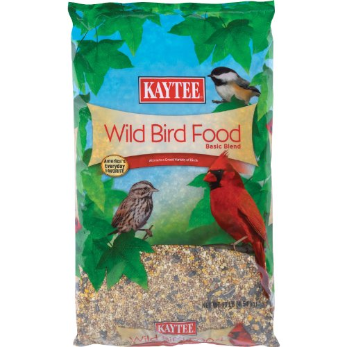 Kaytee Wild Bird Food, 10-Pound Bag (Discontinued by Manufacturer) Multi-Colored